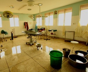 Kawololo Hospital, Mukono District, Uganda - no new equipment has been given to this hospital since it was built in 1968